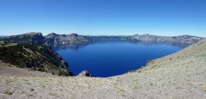 USA 2012 Crater Lake Pumice Point